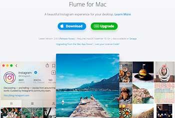 sube fotos y videos a instagram con flume