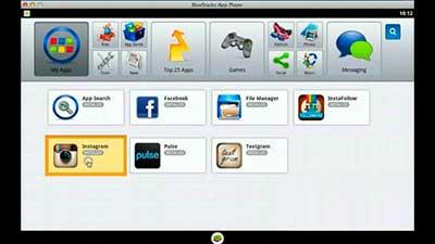 descargar instagram para mac con bluestacks